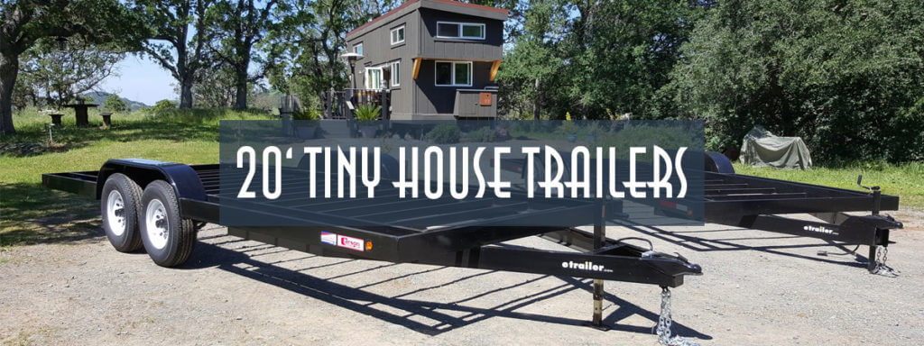 20ft Tiny House Trailer