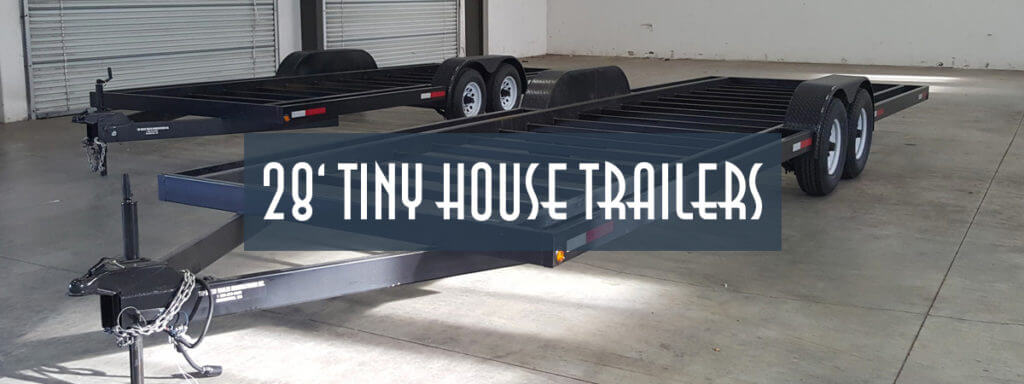 28ft Tiny House Trailer