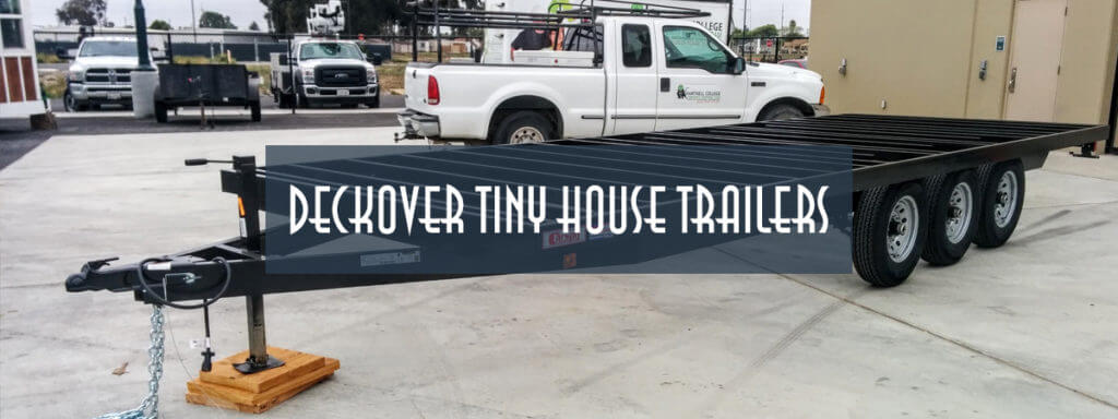 deckover tiny house trailer