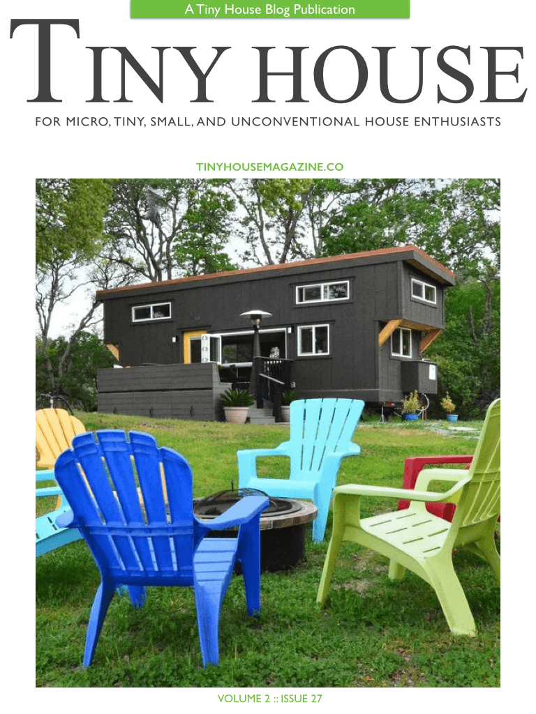 On The Cover Of Tiny House Magazine Tiny House Basics