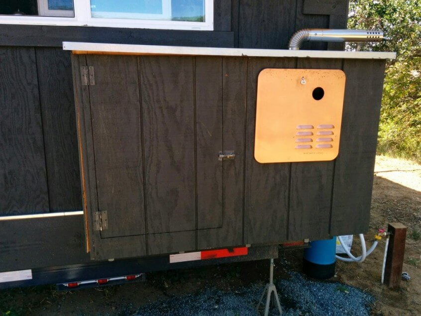 propane usage in a tiny house - A Tiny House