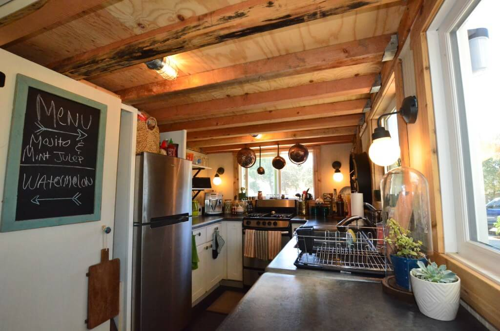 The cooks essential tiny house kitchen