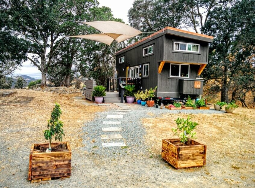 land for tiny house. Interview With \u201cFancy\u201d Tiny House Dwellers Land For