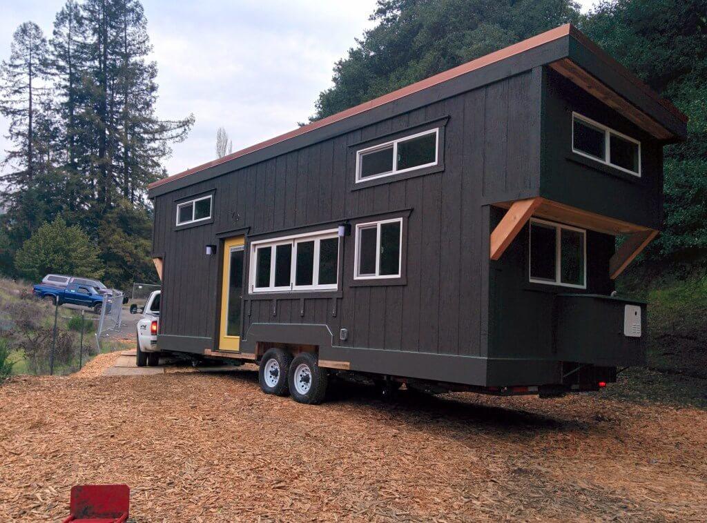 Gooseneck Trailer Tiny House A River Runs Through It