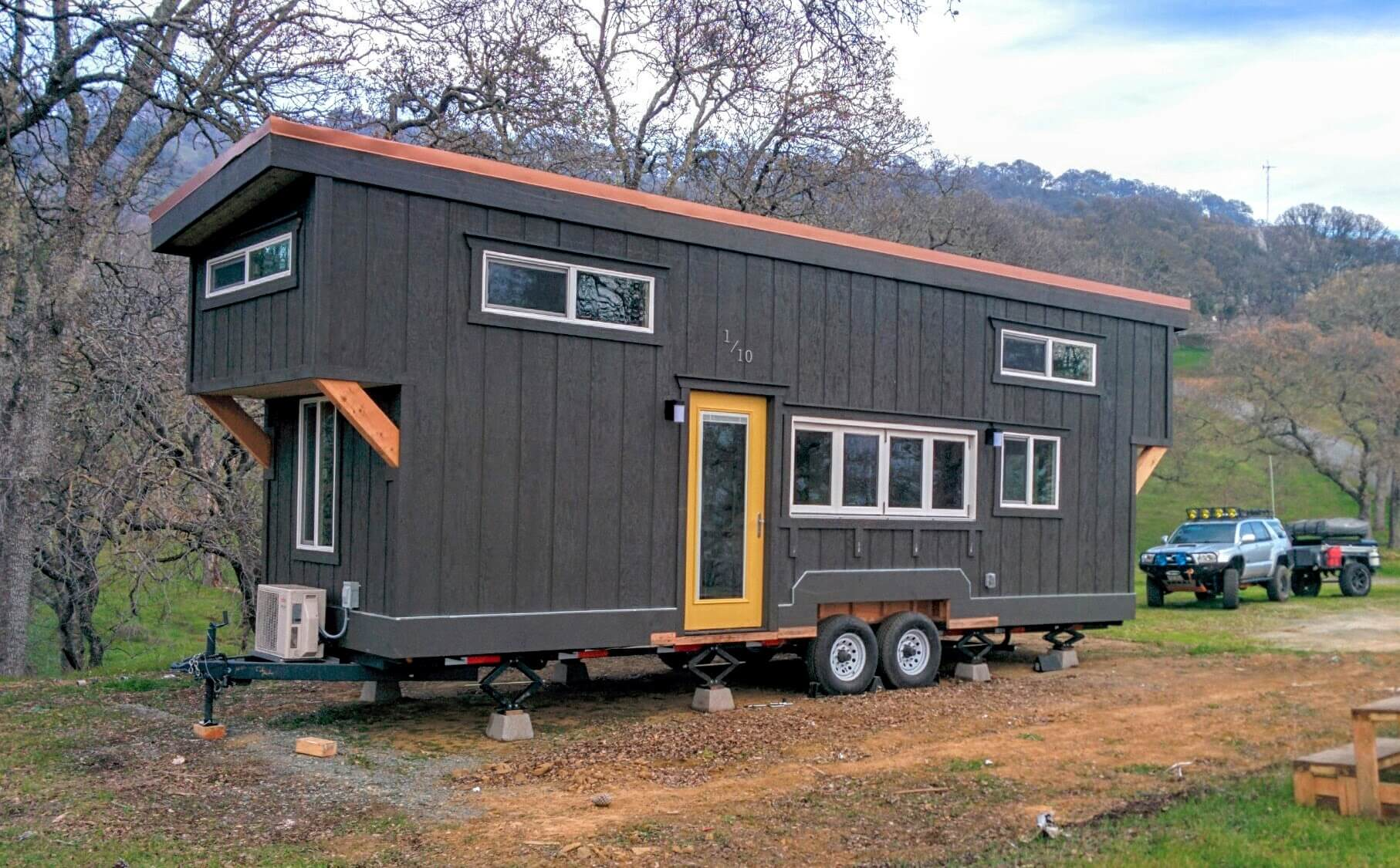 setting up and leveling out tiny house basics. Black Bedroom Furniture Sets. Home Design Ideas