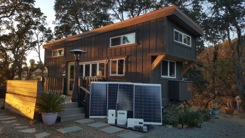 Quest For A Solar Powered Tiny House
