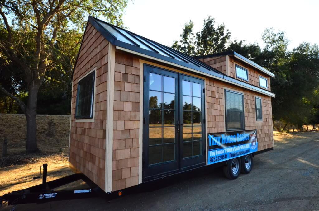 24ft rubicon tiny house shell walkthrough tiny house for Cost to build shell of house