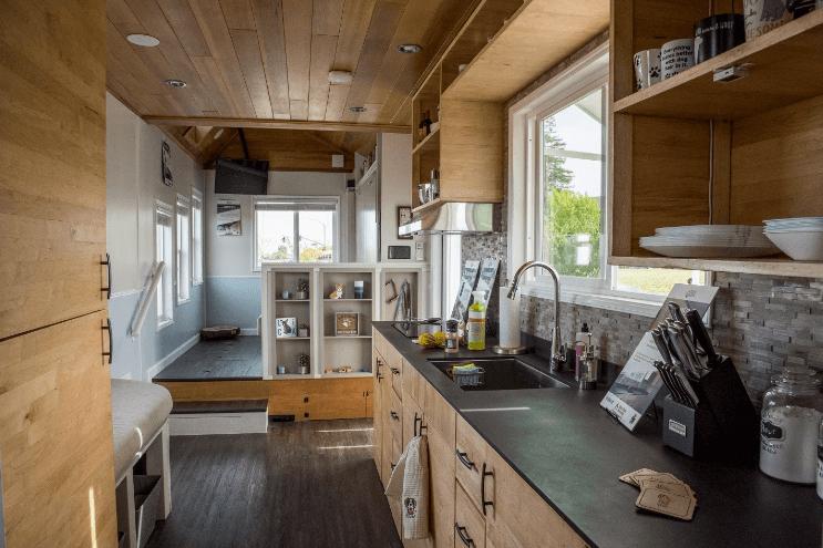 A Look Inside A Award Winning Tiny House Tiny House Basics
