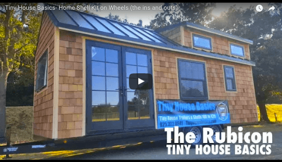 Stupendous Tiny House Basics Home Shell Kit On Wheels Video Tour Tiny Largest Home Design Picture Inspirations Pitcheantrous