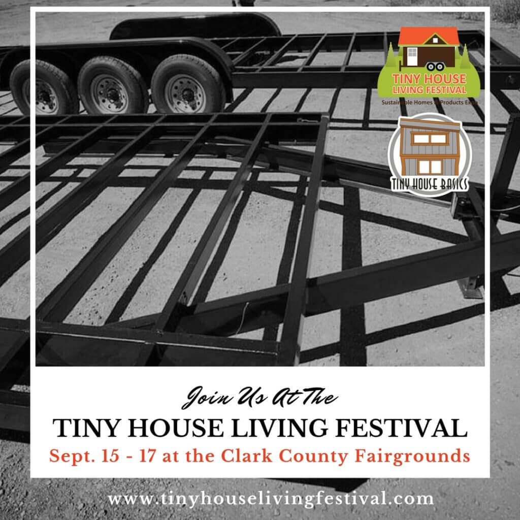 taking center stage at the tiny house living festival | tiny house