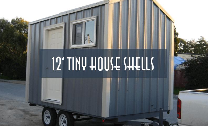 12ft tiny house trailer shell