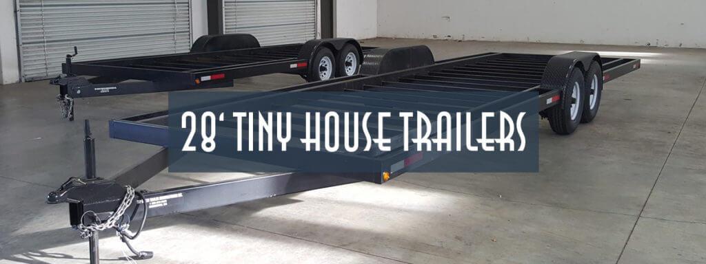 28ft Tiny House Trailer