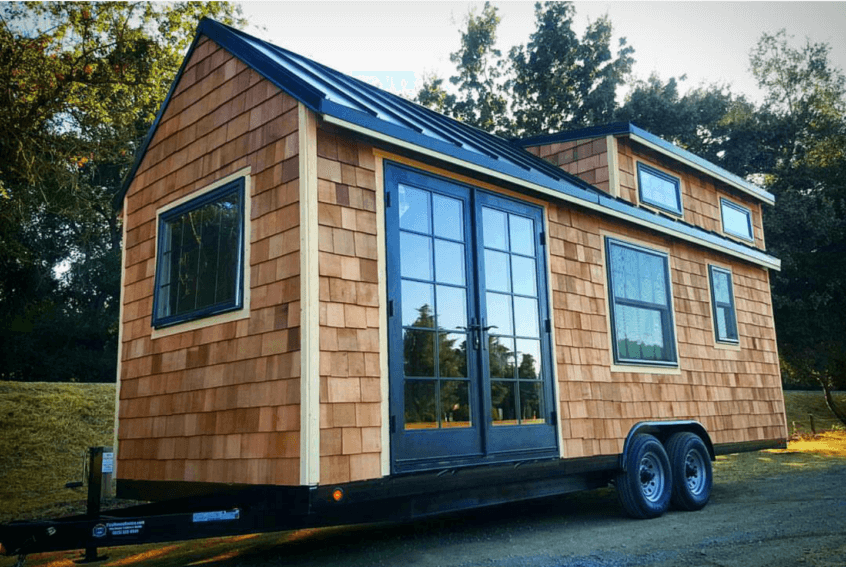 "Tiny Home Designs: 24ft ""Rubicon"" Tiny House Shell Walkthrough"