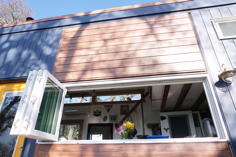 8ft X 3ft Accordion Window Tiny House Basics