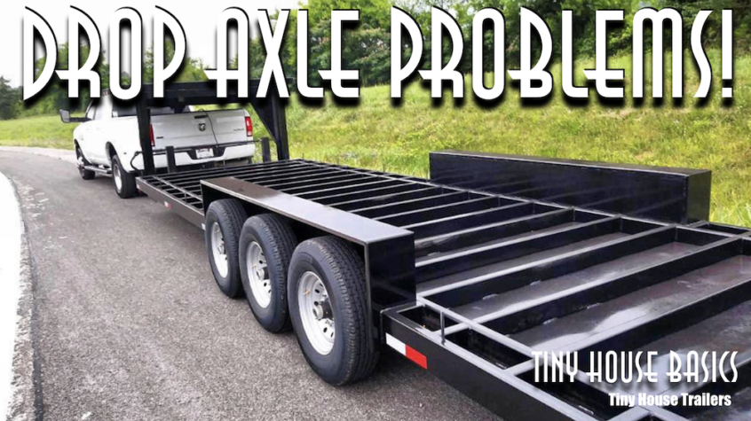 Drop Axle Problems